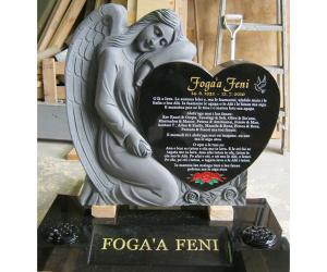 61994 Carved Angel Heart